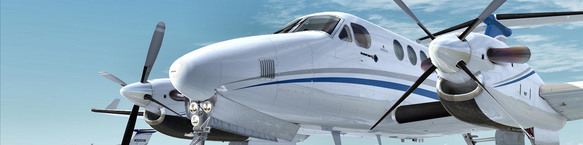 king 2001 - King Air 200 Air Charter